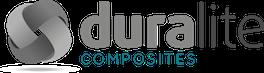 Duralite Platten, Komponenten und Gewebe aus ein innovatieve thermoplastische Verbundwerkstoff Logo